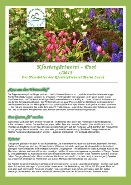 Newsletter Nr. 3/2012 (pdf, 810 KB)